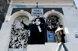 Cristina Fernández mural Photo credit: CateIncBA / Foter / CC BY-NC-ND
