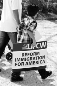 Immigration reform rally | by Anuska Sampedro | Flickr | Creative Commons