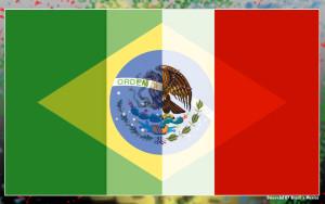 Deviant Art | ~dmcwebd | Brazil x Mexico