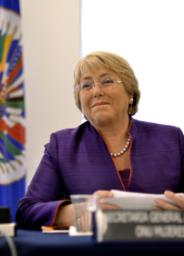 Michelle Bachelet / Photo credit: OEA - OAS / Foter.com / CC BY-NC-ND