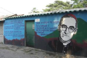 Bishop Oscar Romero mural, El Salvador / Photo credit: alison.mckellar / Foter / CC BY