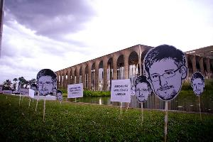 """Snowden Day in Brasilia, Brazil"" Photo credit: midianinja / Foter / CC BY-NC-SA"