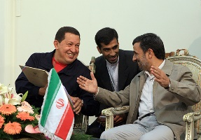 Former Presidents Hugo Chavez and Mahmud Ahmadinejad / Photo credit: chavezcandanga / Foter.com / CC BY-NC-SA