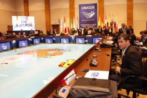 unasur meeting