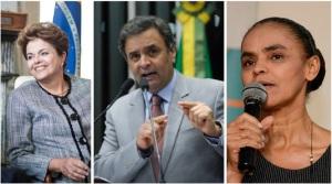Dilma Rousseff | Photo credit: Office of Governor Patrick / Foter.com / CC BY-NC-SA Aécio Neves | Photo credit: Agência Senado / Foter.com / CC BY-NC Marina Silva | Photo credit: BrasilemRede / Foter.com / CC BY-SA