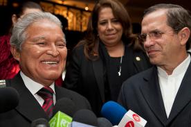 Salvadoran Presidential candidat Salvador Sánchez Ceréne  Photo credit: Cancillería Ecuador / Foter / CC BY-SA