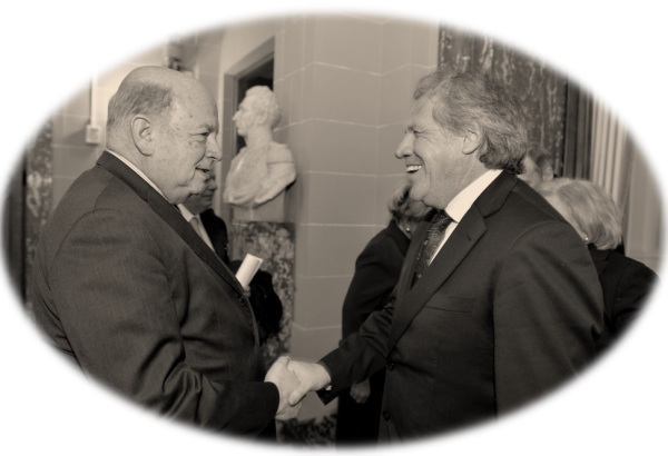 José Miguel Insulza and Luis Almagro Lemes Photo Credit: OEA - OAS / Flickr / Creative Commons