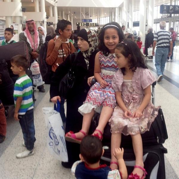 Syrian refugees Uruguay