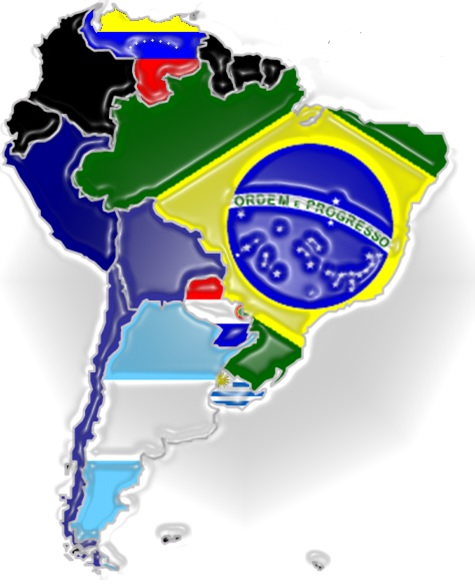 Mercosur map