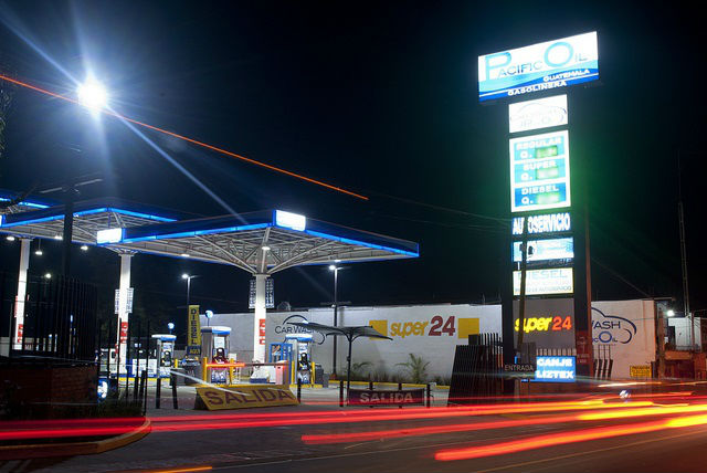 Gas Station Guatemala