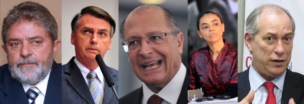 Brazilian presidential candidates 2018