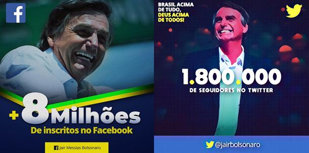 Bolsonaro social medis