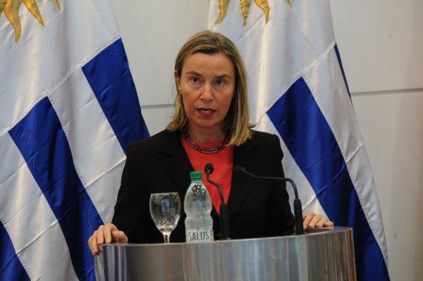 Photograph of the EU High Representative for Foreign Affairs
