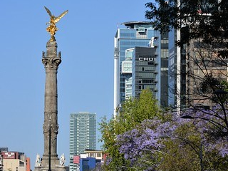 Mexico City's Paseo de La Reforma