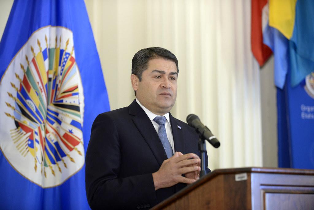 President of Honduras, Juan Orlando Hernandez, January 16,