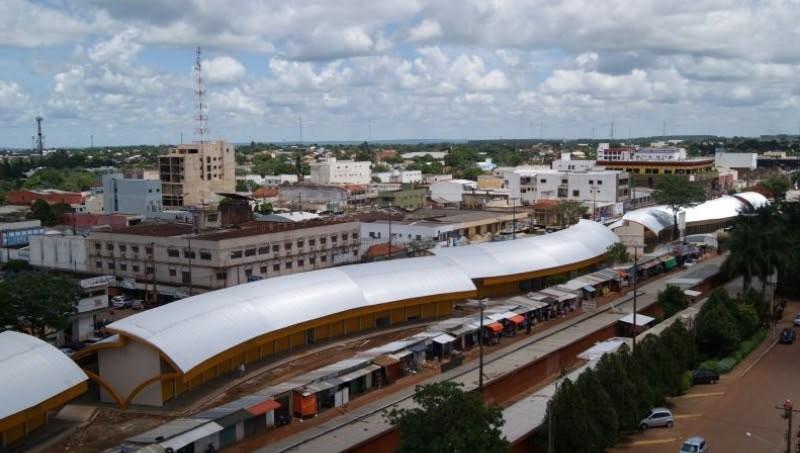 City view of Pedro Juan Caballero