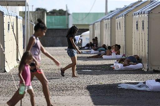 Venezuelan refugees in Boa Vista, Brazil