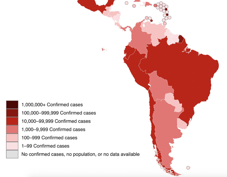 Coronavirus Latin America