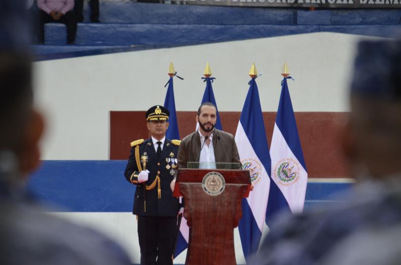 President of El Salvador Nayib Bukele
