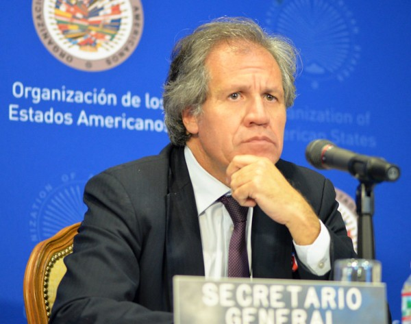 Luis Almagro, OAS Secretary General