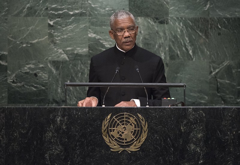 David Arthur Granger, Former President of the Republic of Guyana.